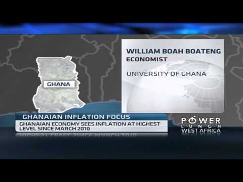 Ghana inflation at its highest in 3YRS