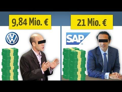 Die 8 Bestbezahlten Manager Deutschlands