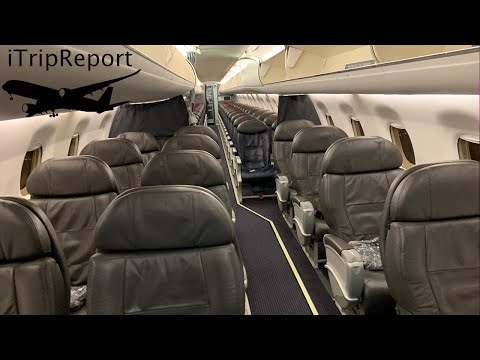 American Eagle E175 First Class Review