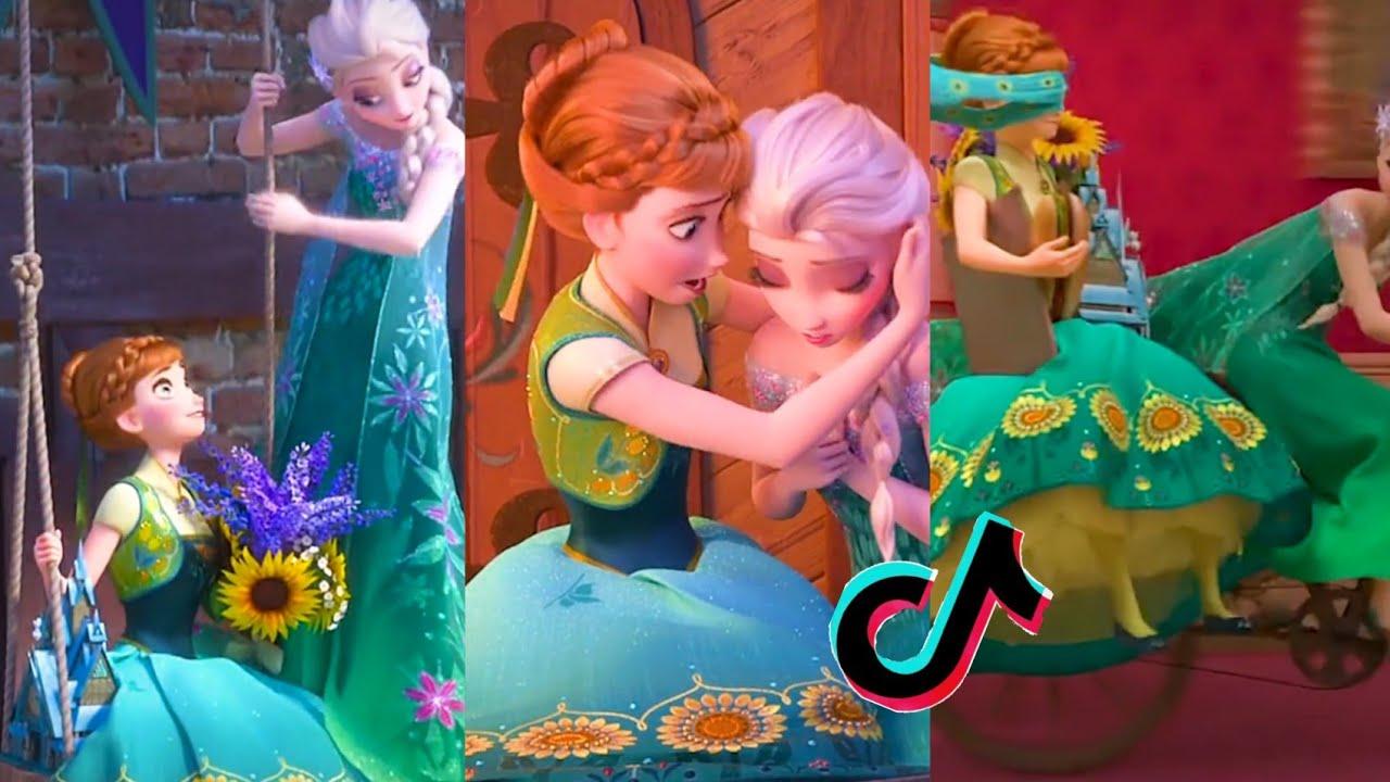Elsa Anna Sister LOVE ❤ Disney Princesses Frozen 2 🌺 Tiktok Videyo compilation