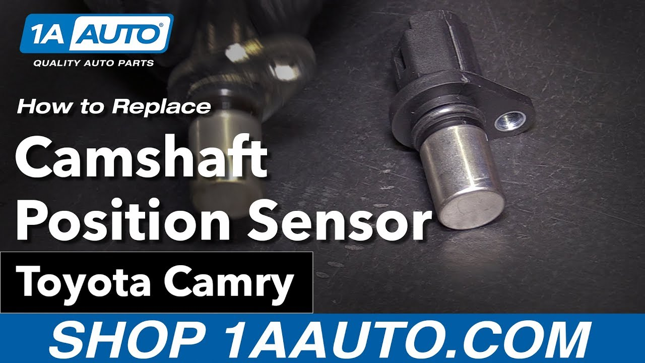 how to replace install camshaft position sensor 09 toyota camry [ 1280 x 720 Pixel ]