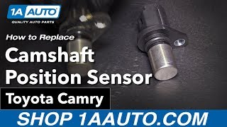 How to Replace Install Camshaft Position Sensor 09 Toyota Camry