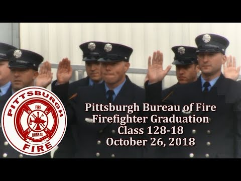 City of Pittsburgh Bureau of Fire Graduation Ceremony - 10/26/18