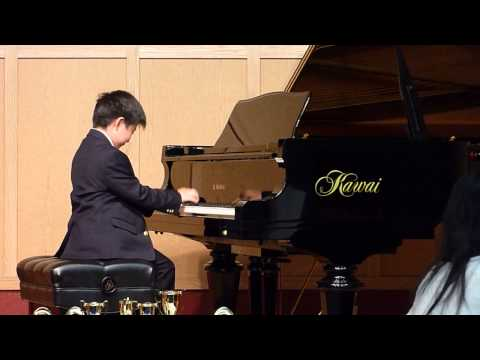 Edward Loh Celebration By Lynn Freeman Olson: 3rd Movt ~ Parade Duet Piano Concerto Recital - Age 7