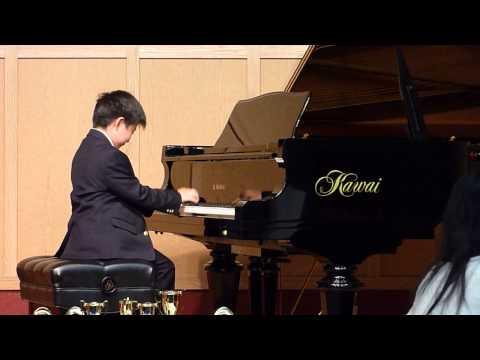 Edward Loh Celebration By Lynn Freeman Olson: 3rd Movt ~ Parade Duet Piano Concerto Recital - Age 7