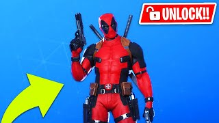 Unlock *NEW* DEADPOOL Skin in Fortnite! - Dead Pool Gameplay & Week 7 Challenges (Dead Pool Event)