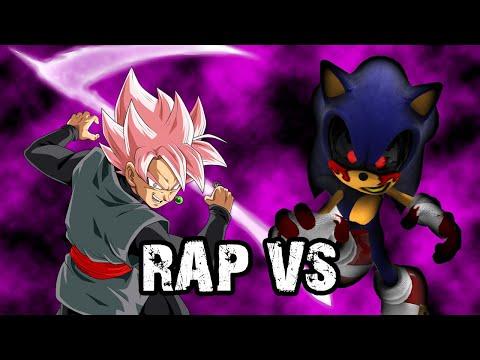 RAP De GOKU BLACK Vs SONIC.EXE [2020] | RAP VS 👊 | Dragon Ball Super • Sonic The Hedgehog | HLBeast
