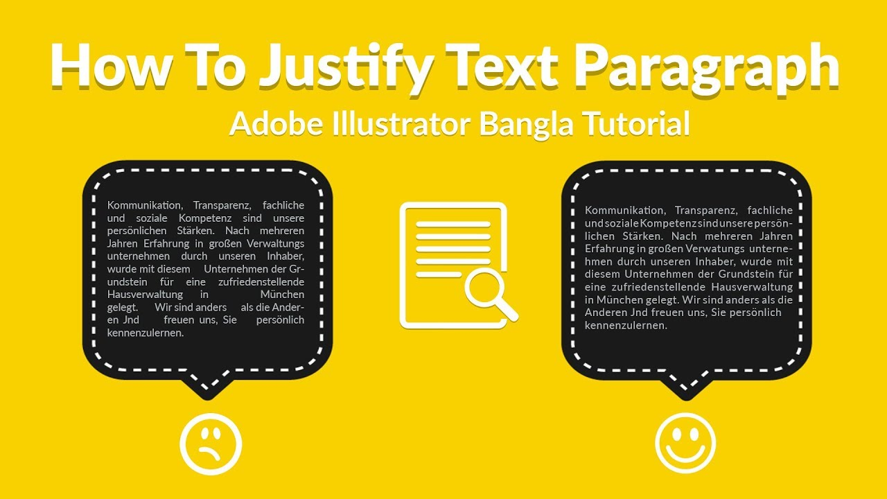 How to justify text paragraph in adobe illustrator bangla tutorial how to justify text paragraph in adobe illustrator bangla tutorial ccuart Choice Image