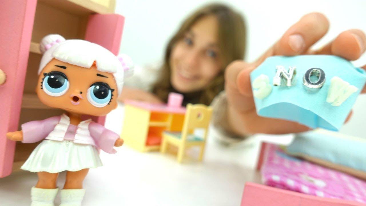 Куклы Лол в видео для девочек - Шьем одежду для кукол