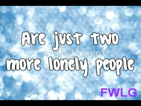 Miley Cyrus - Two More Lonely People Lyrics