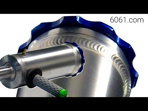 ⚡ TIG Welding Aluminum Fabrication ⚡ - Making a spud gun (potato cannon)