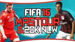 FIFA 16 Ultimate Team | Squadbuilder - Hachim Mastour 20k NLW Gold/Silber Hybrid! (deutsch)