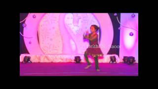 Drithi N. Saoor dancing to Madhuri Dixit