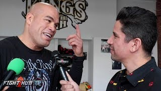 TITO ORTIZ REACTS TO LIDDELL LOOKING TERRIBLE IN TRAINING CLIPS
