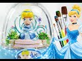 Cinderella glitzi globes inspired / paint your own glitter dome - Roziberry