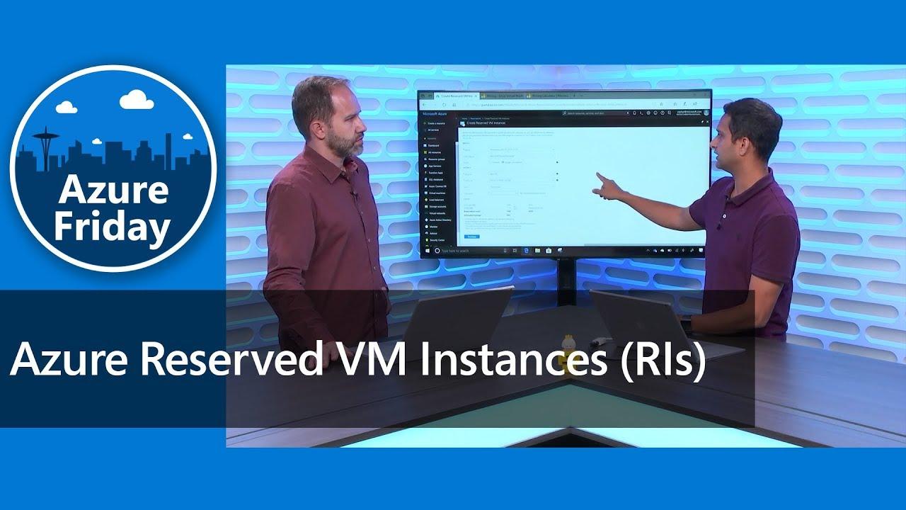 Azure Reserved VM Instances (RIs)