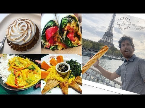 International Travel as a Vegan: Dublin, Paris, and Greece
