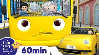 Wheels On The Bus Song - Yellow Bus | +More Nursery Rhymes | ABCs and 123s | Little Baby Bum