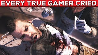 Video Games That Made You Cry Like a Baby