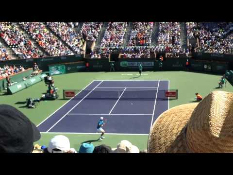 Novak Djokovic vs Jo-Wilfried Tsonga 2016 Indian Wells Quarterfinal