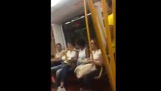 Rébellion dans le métro à Madrid après l'agression d'un couple marocain par un nazi (Bladi.net)