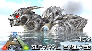 ARK: SURVIVAL EVOLVED - MYTH DARKNESS BLACK TORTOISE E102 !!! ( ARK EXTINCTION CORE MODDED )