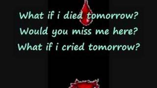 About Last Night-What if i died tomorrow(with lyrics)