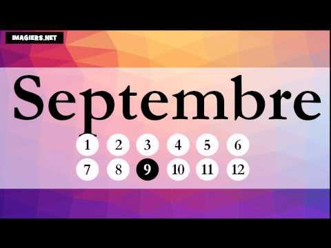 Lezione di francese = I mesi dell'anno