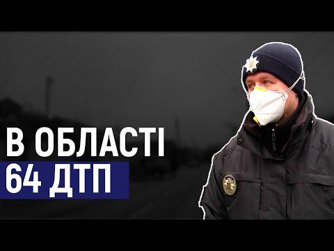 Суспільне Житомир: Дощ та ожеледь: на Житомирщині зареєстрували 64 ДТП