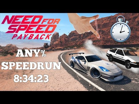 Need For Speed Payback | PC | Any% Speedrun | World Record | 8:34:23