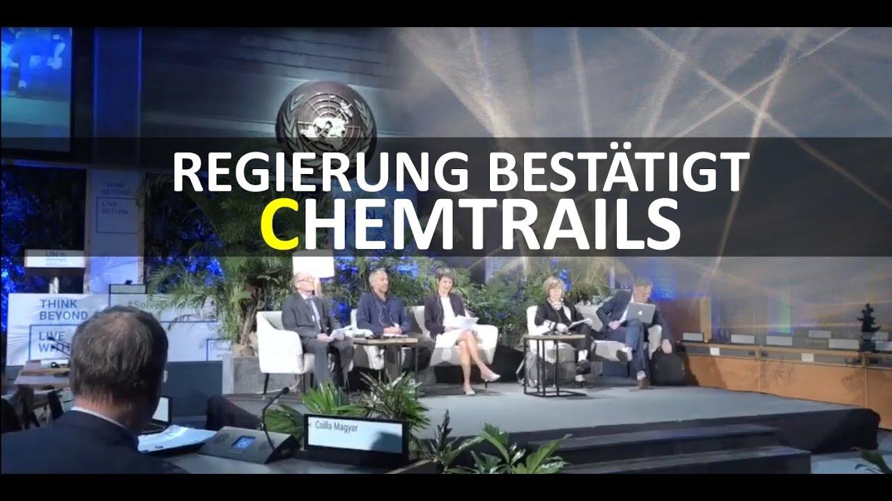 Chemtrails Offiziell Bestätigt