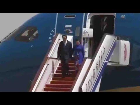 Vietnamese president arrives in Beijng for Belt and Road summit