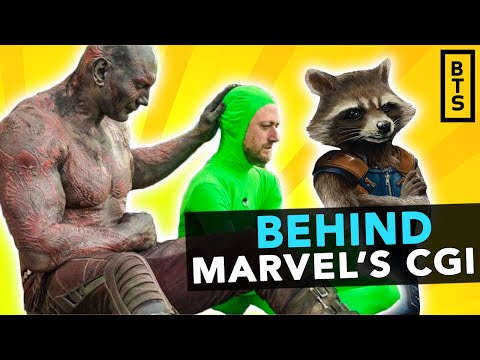 Behind Marvel's CGI: A Look Into The Drastic Changes It Makes In Blockbuster Movies