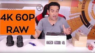 Mi-am cumparat camera 4K60p RAW!!! Unbox si accesorii!