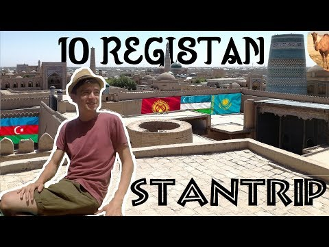 Registan, Samarkanda - StanTrip 2017 - Abletr w Podróży #21