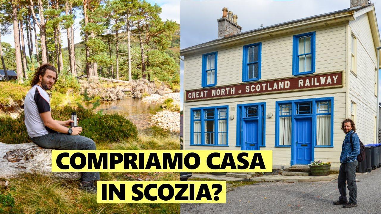 COMPRIAMO CASA IN SCOZIA? Il mio posto del cuore: Cairngorms Vlog || Due italiani in UK