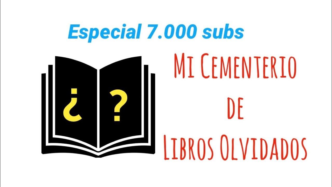 Mi CEMENTERIO DE LIBROS OLVIDADOS  📖 Especial 7.000 subs ❤️ 12 libros y las anécdotas que esconden