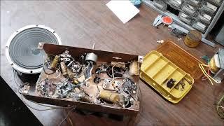 Repair Of A 1937 Zenith Farm Radio