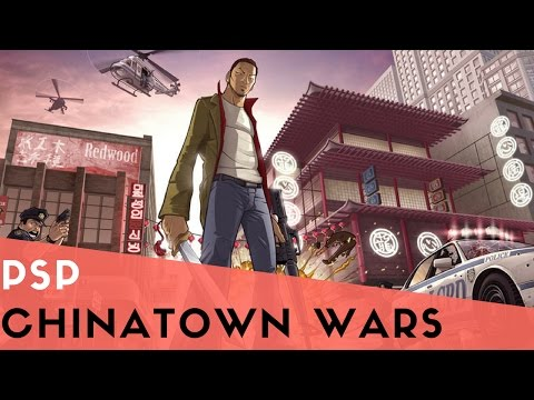 PSP Longplay #5: Grand Theft Auto Chinatown Wars HD [ PPSSPP 0.9.9.1]