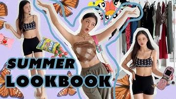 이건 어때?🌏 내 스타일대로 입는 여름 패션 룩북   My Style Outfit Summer Fashion LookBook