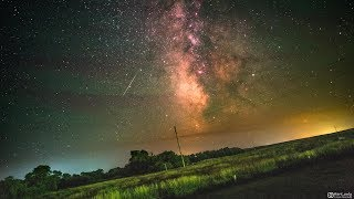 Earth's Rotation Visualized in a Timelapse of the Milky Way Galaxy - 4K