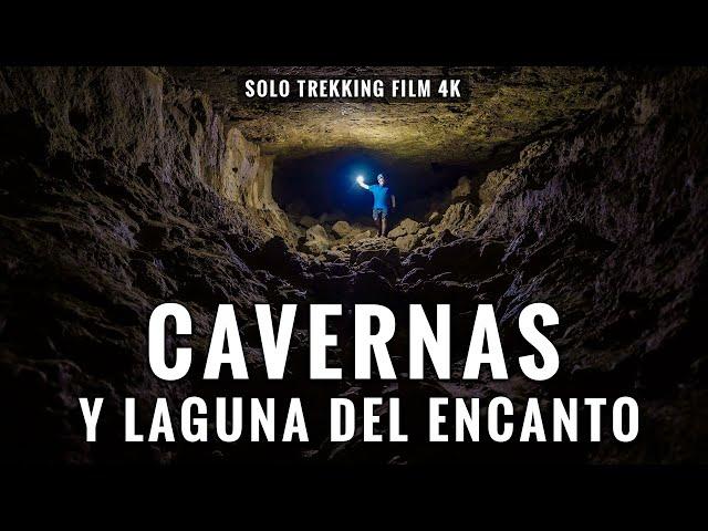 CAVERNAS Y LAGUNA DEL ENCANTO: Trekking 8 Kms en San Fernando, Chile