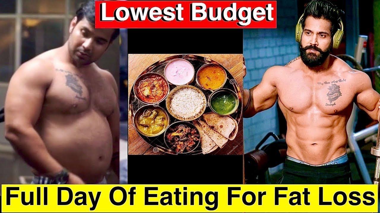 Fatloss Diet||Full Day Of Eating For Fat Loss||Cheapest/Simplest Fatloss Diet||