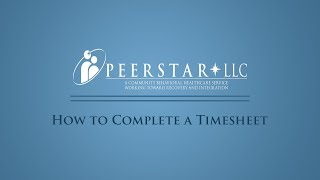 How to Complete a Timesheet