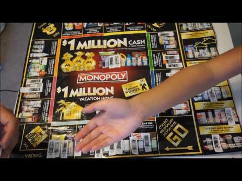 Monopoly Collect & Win Game - Cash Money Winner Winner!!????