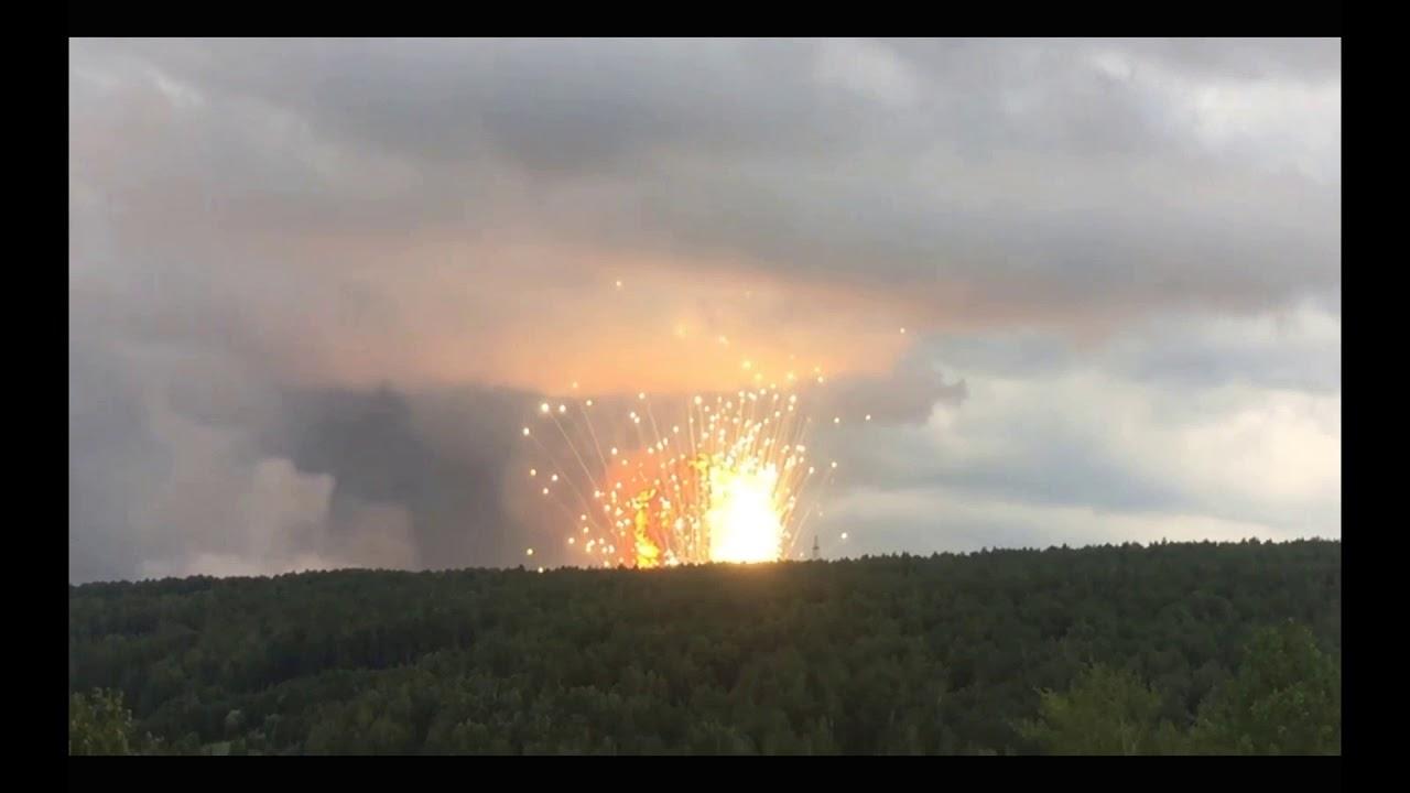 Експлозија и евакуирани луѓе во хоророт во Сибир