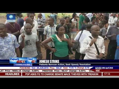 JOHESU Strike: Patients Bemoan Action, Seek Speedy Resolution