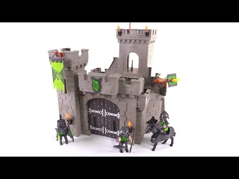 Playmobil Wolf Knights Castle Review Set 6002 Youtube