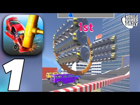 SMASH CARS! Gameplay Walkthrough Part 1 - Levels 1-10 (iOS Android)