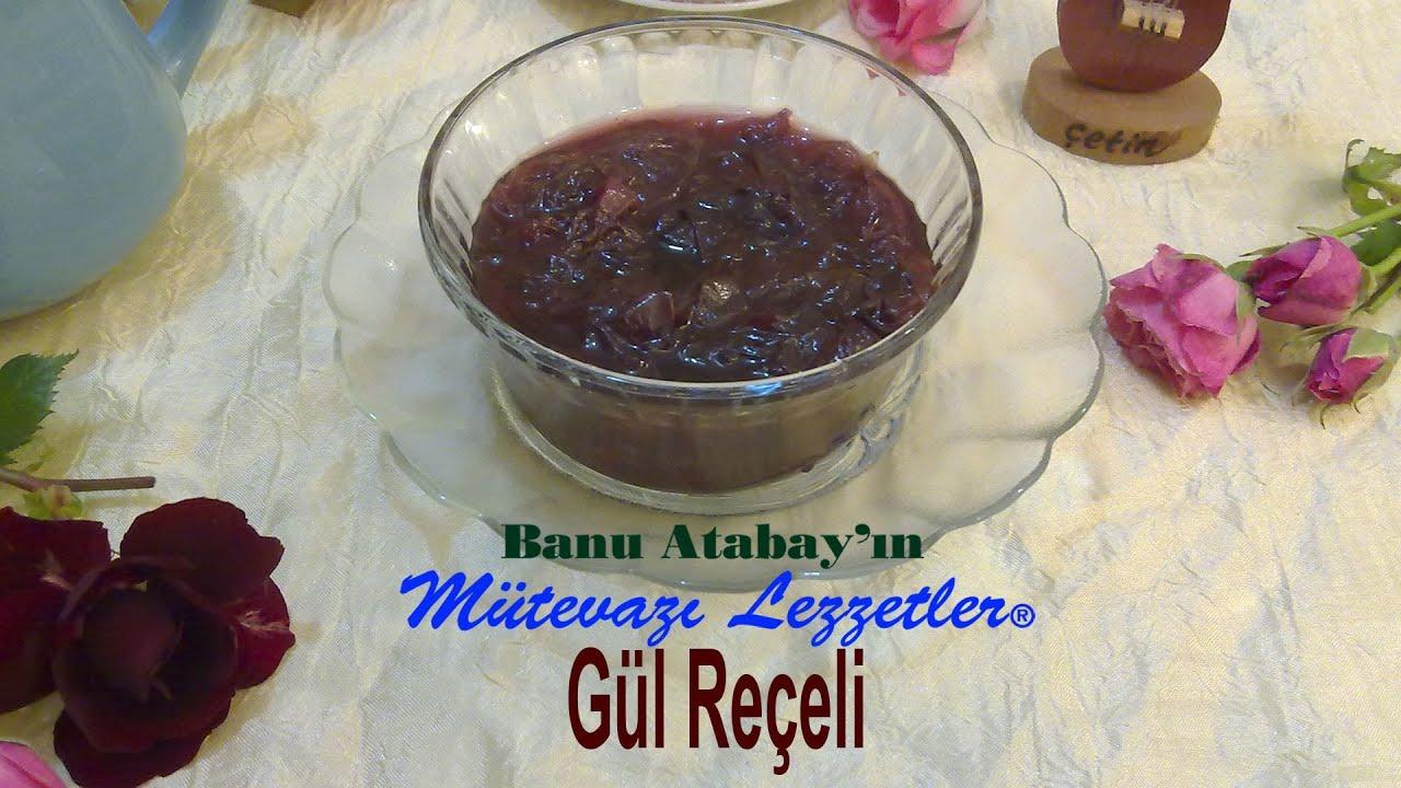 Gül Reçeli Tarifi